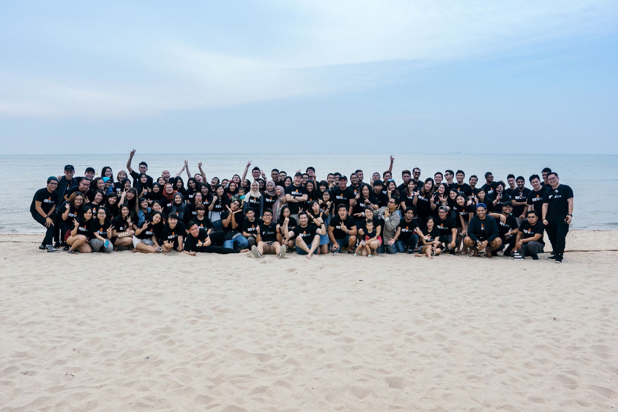 The REV Asia team at their recent company retreat in March 2017.
