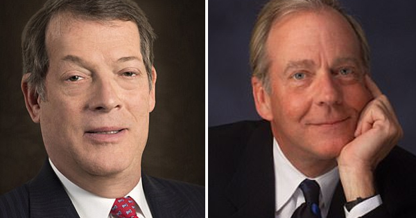 Dr. David Dao has hired two sets of lawyers namely Stephen L. Golan (left) and Thomas A. Demetrio (right).
