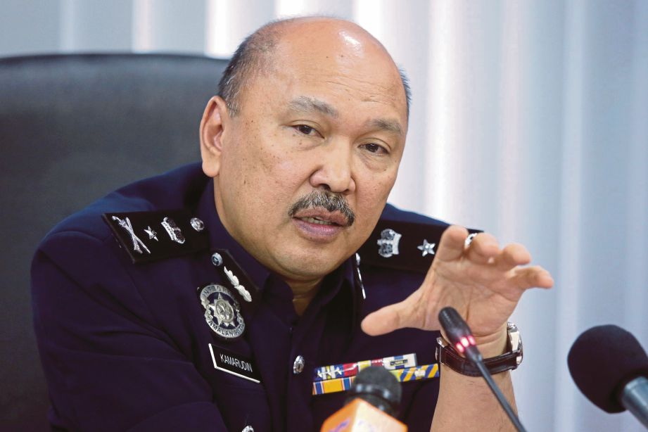 Timbalan Pengarah JSJK (Siber dan Siasatan Multimedia), Senior Asisten Komisioner Datuk Kamaruddin Md Din.