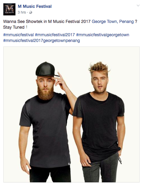 Image from M Music Festival Facebook