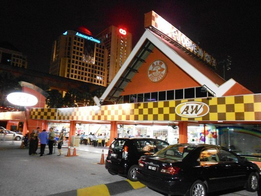 A&W's iconic drive-in restaurant in Lorong Sultan, Petaling Jaya.