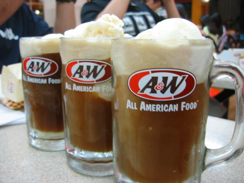 A&W's Root Beer Float