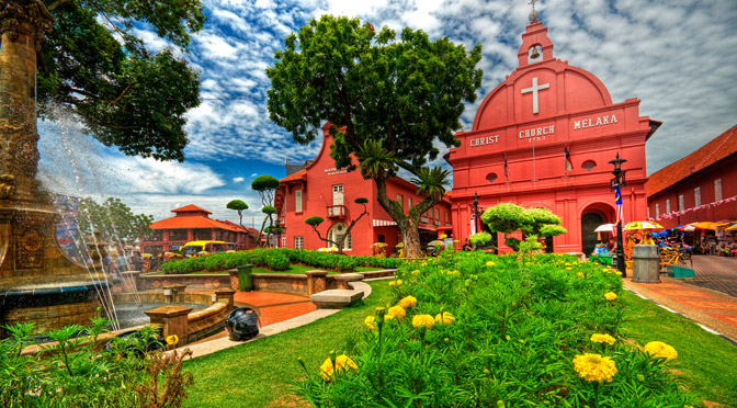 The Stadthuys in Melaka was built by the Dutch in 1650 as the office of the Dutch Governor and Deputy Governor.
