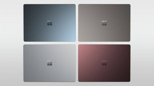 The Surface Laptop will be available in four different colours.