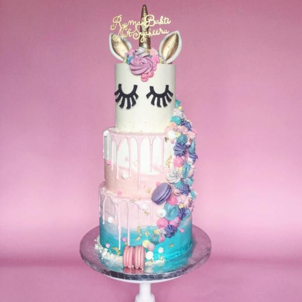 Custom Made Birthday Cake Malaysia