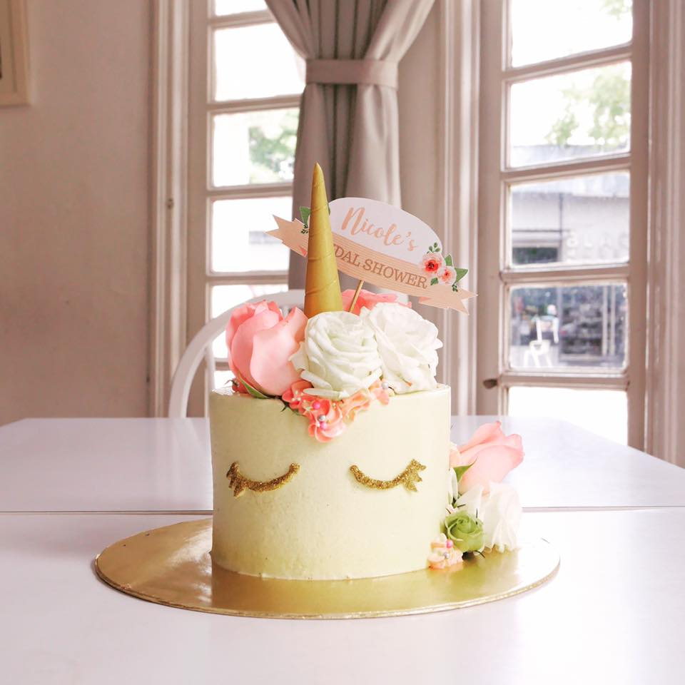 Image via Pretty On Plate Facebook & 15 Local Bakers To Look Up For Custom-Made Unicorn Cakes