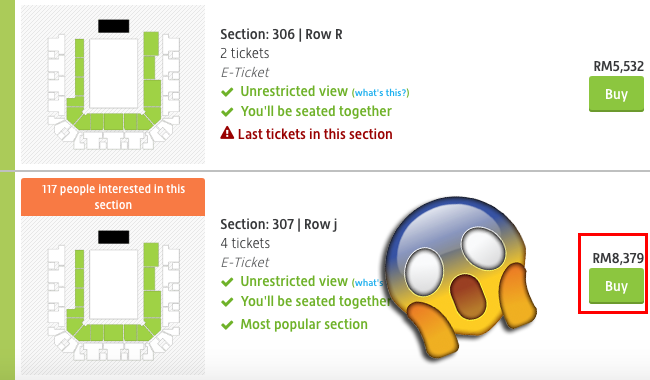 Image from Viagogo