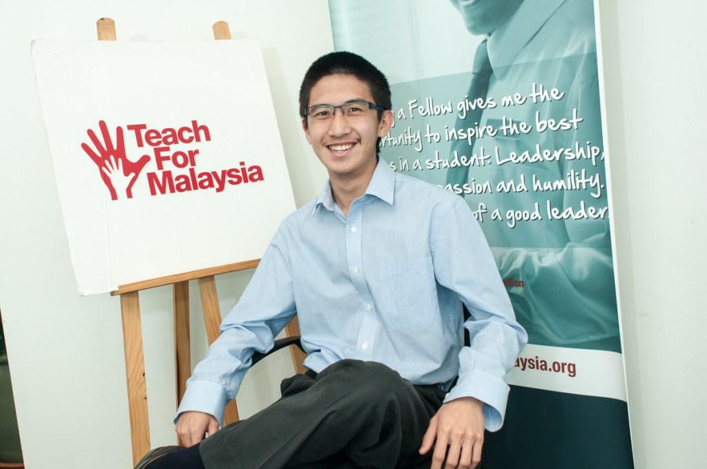 Mr Brian, a Teach For Malaysia Fellow.