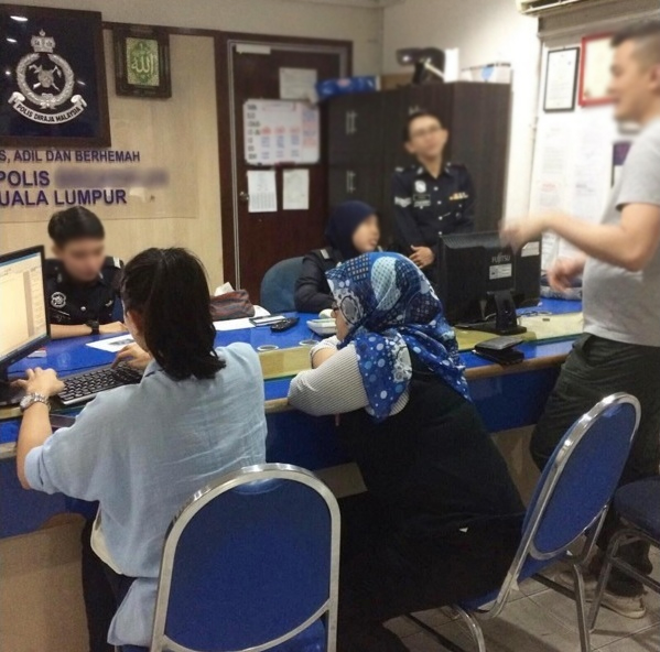 Now, KL-ites no longer need to go to police stations to make non-crime related police reports.