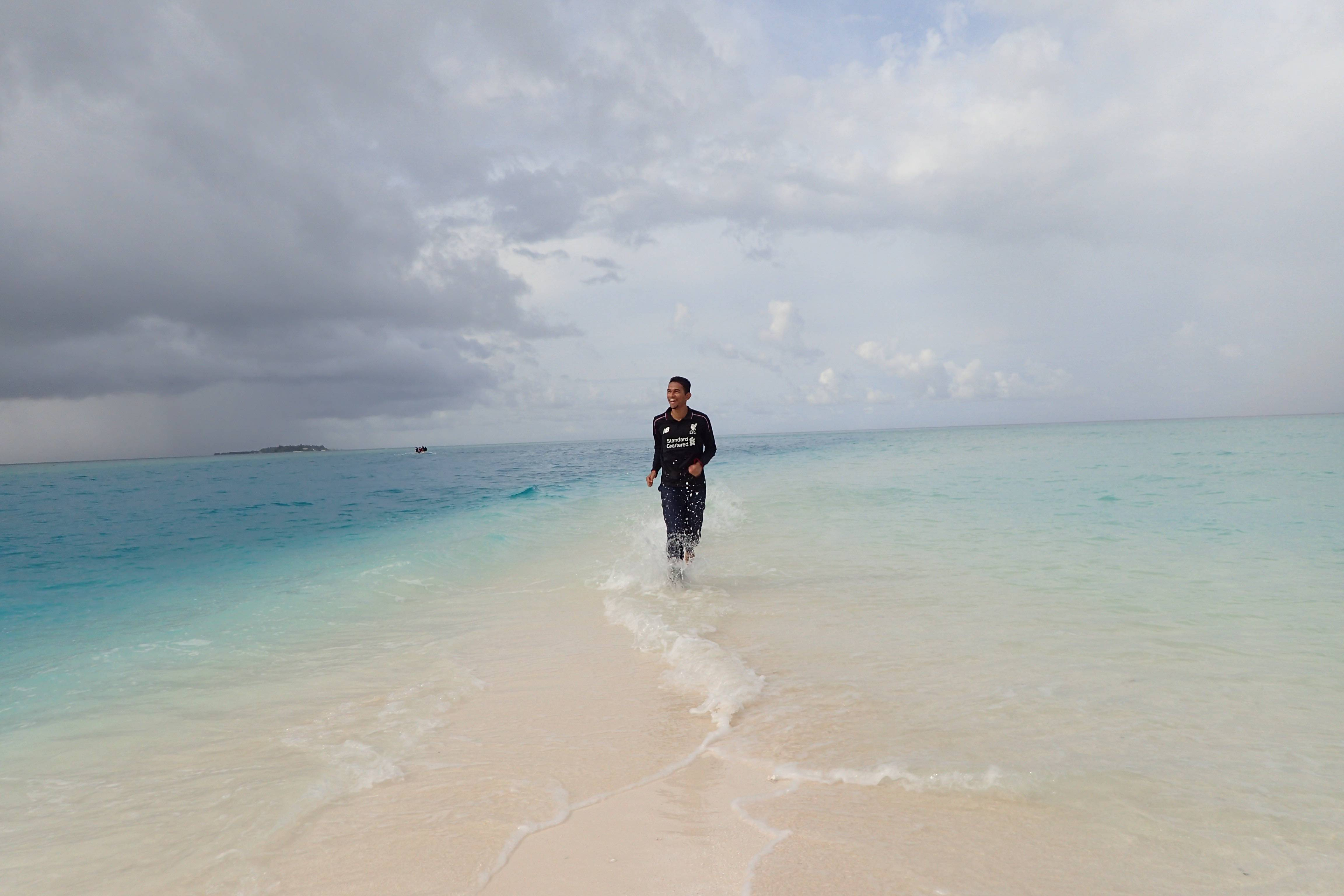 This Sandbank Island was exclusive for us!