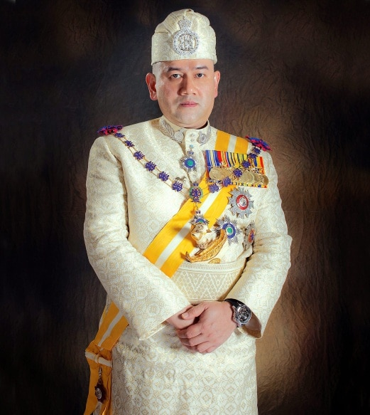 The Sultan of Kelantan, Sultan Muhammad V is the 15th and current Yang di-Pertuan Agong of Malaysia.
