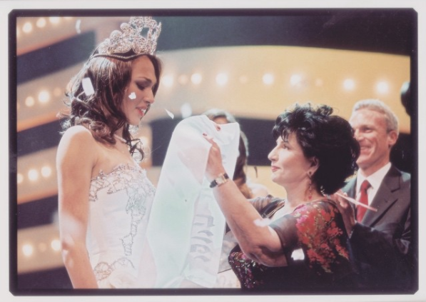 Gal Gadot, crowned Miss Israel in 2004.