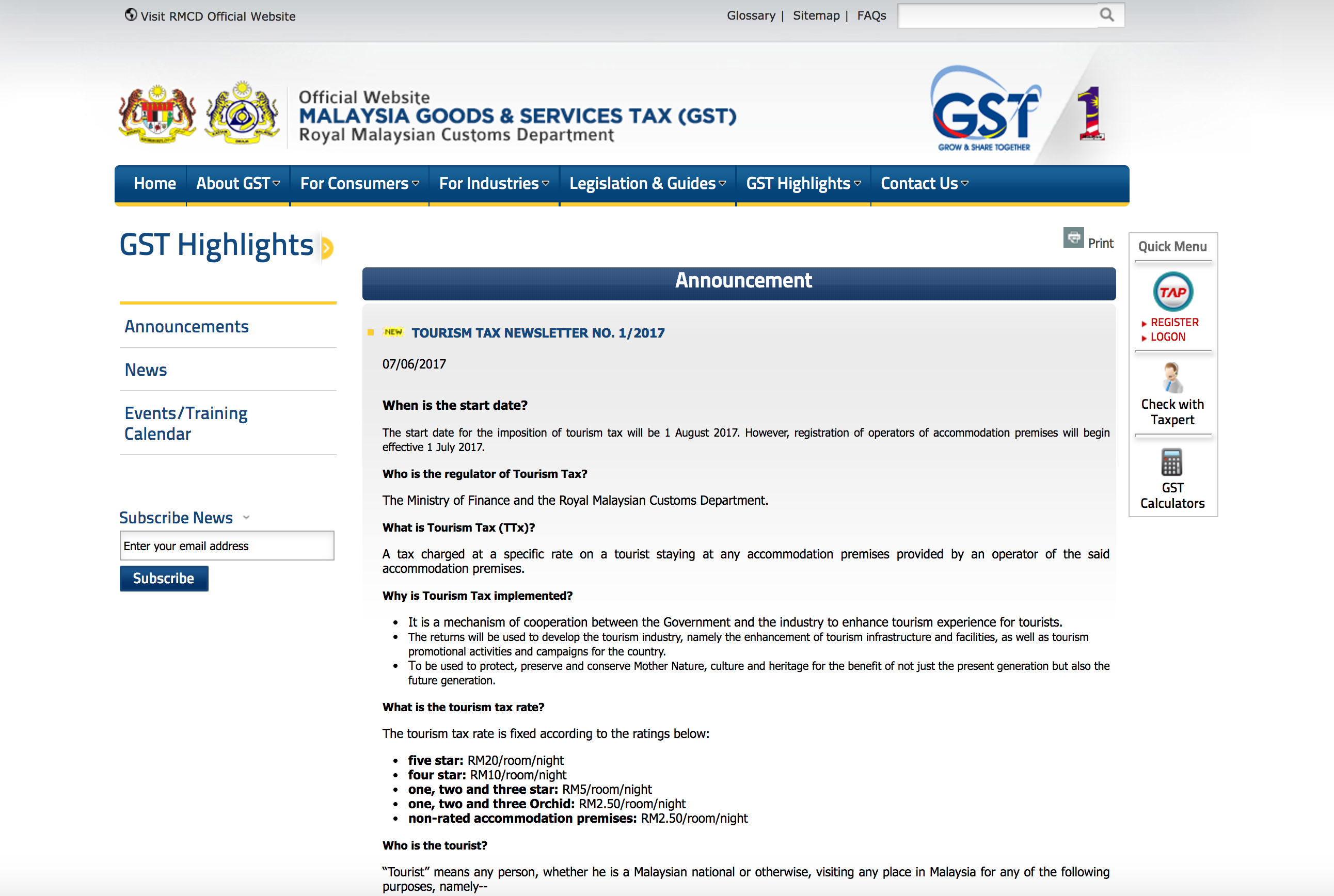 Image from Royal Malaysian Customs Department