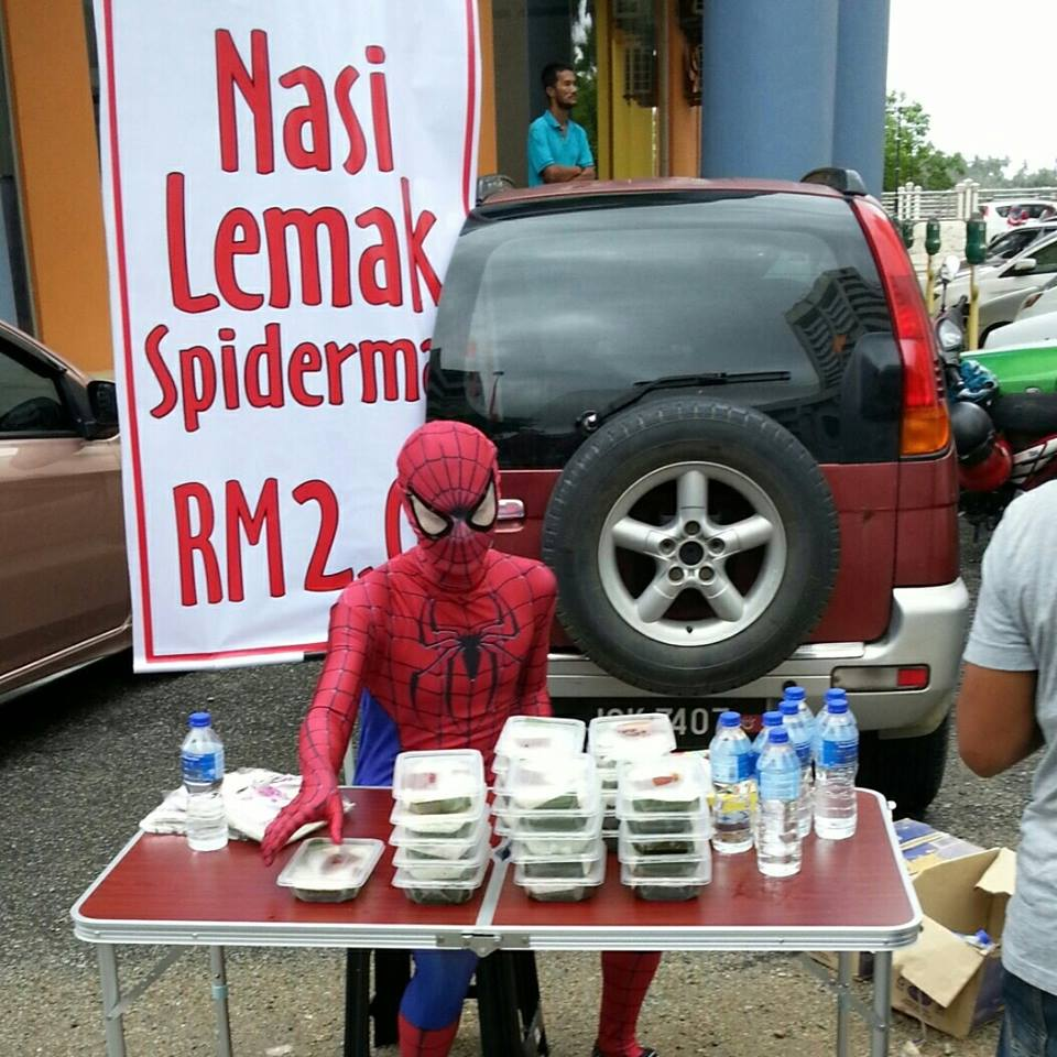 Image from Facebook / @SpidermanMalaysia