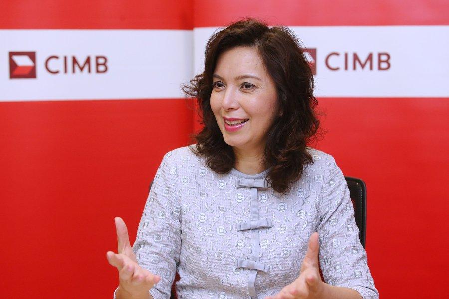 CIMB Group's chief people officer Datuk Hamidah.