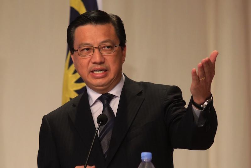 Transport Minister Datuk Seri Liow Tiong Lai
