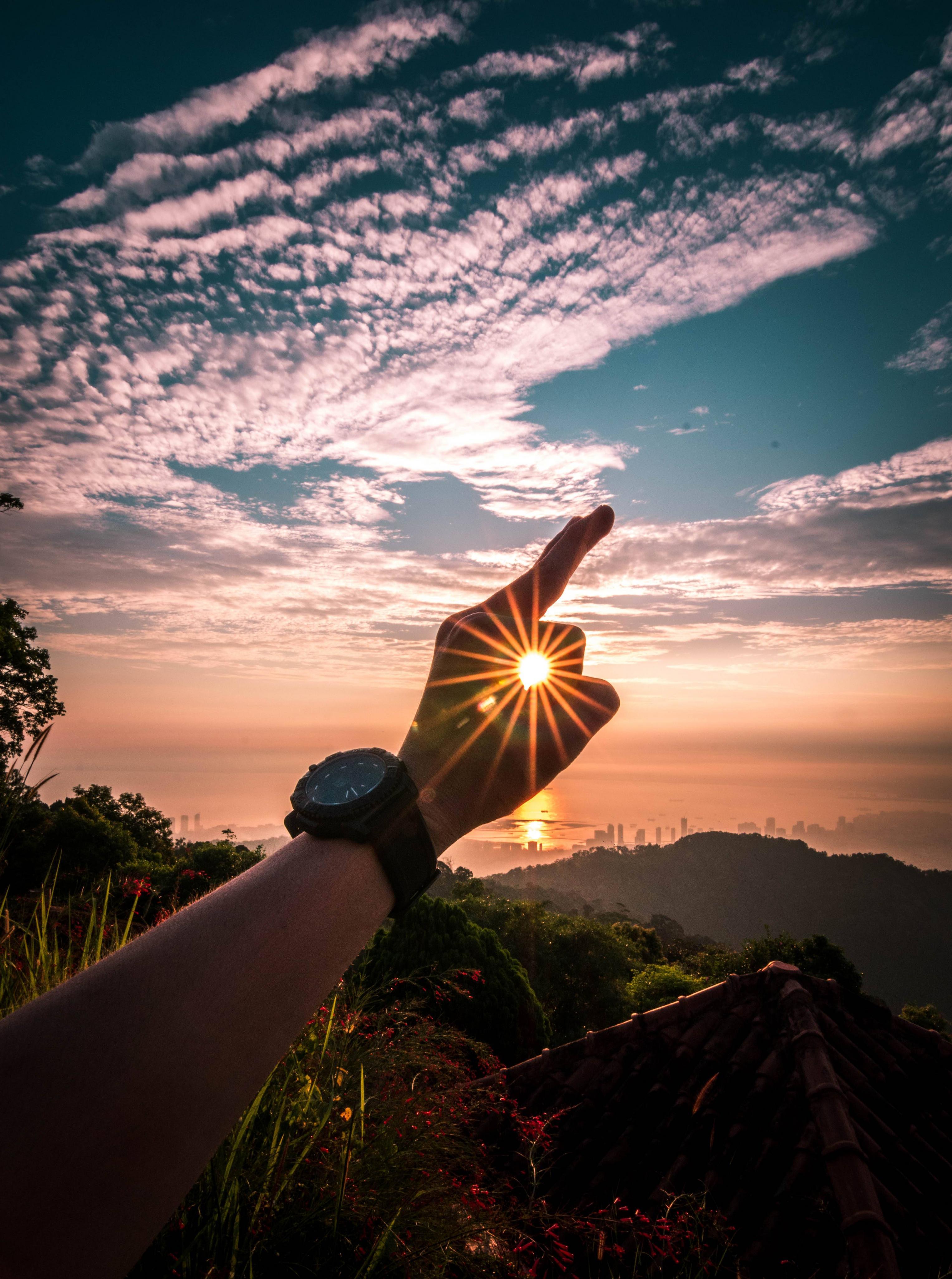 Sunrise at Penang Hill