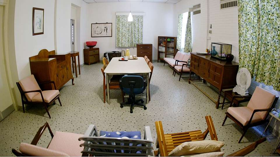The basement dining room at 38 Oxley Road - the place where the founding members of the People's Action Party would gather to discuss the formation of a new party in mind 1950s.