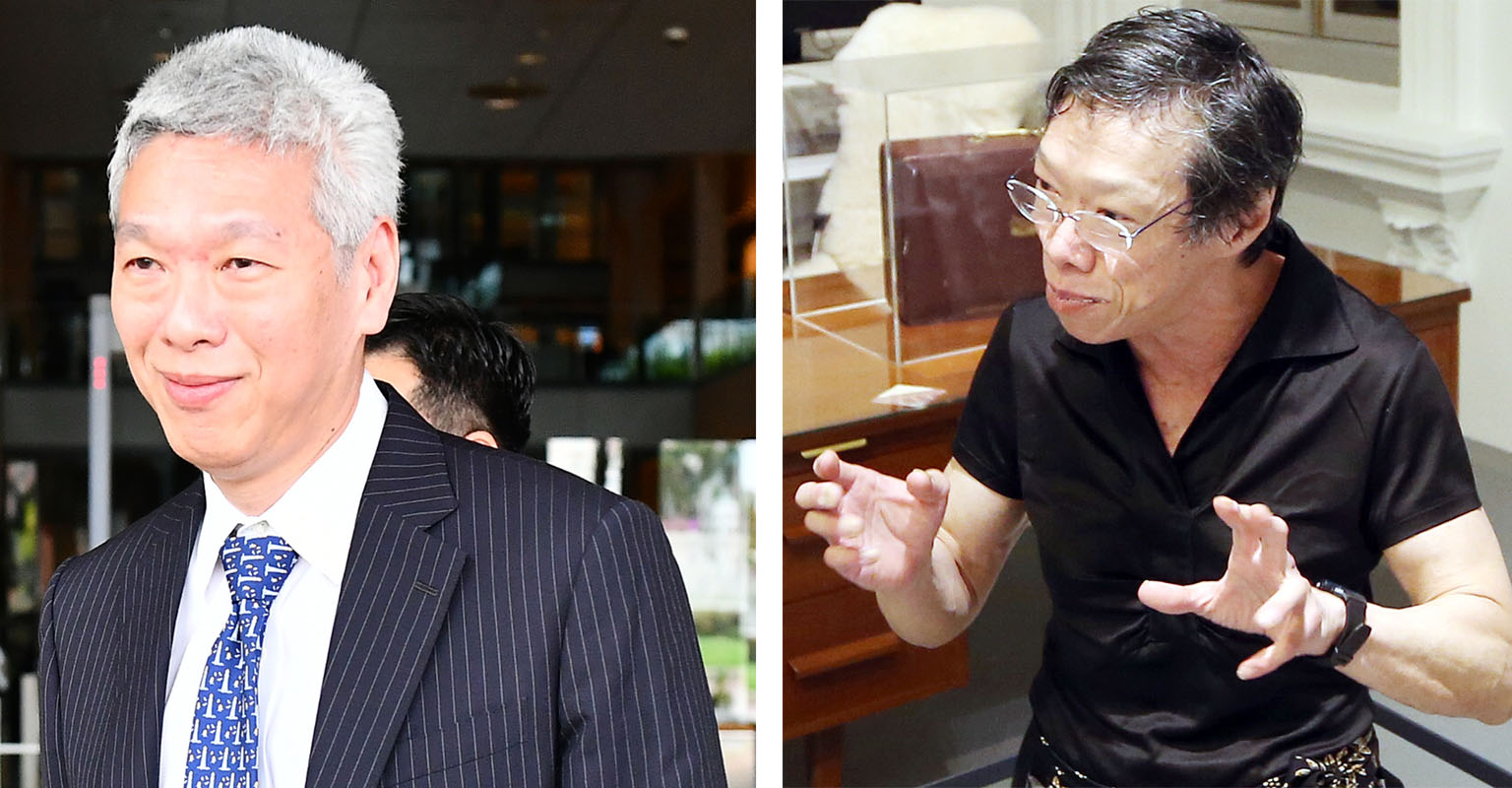 Lee Hsien Yang (left) and Lee Wei Ling (right) issued the statement on no-confidence against their brother on 14 June.