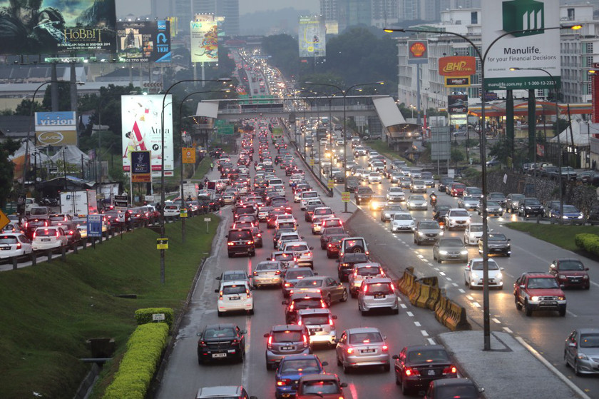 Image result for traffic jams in malaysia