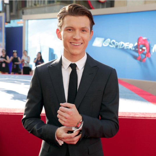 Image from Instagram @tomholland2013