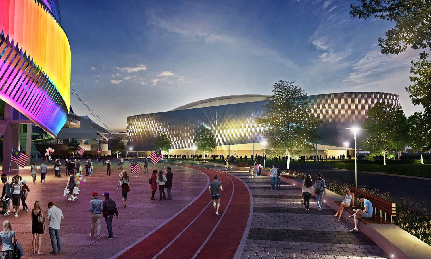 Image from KL Sports City