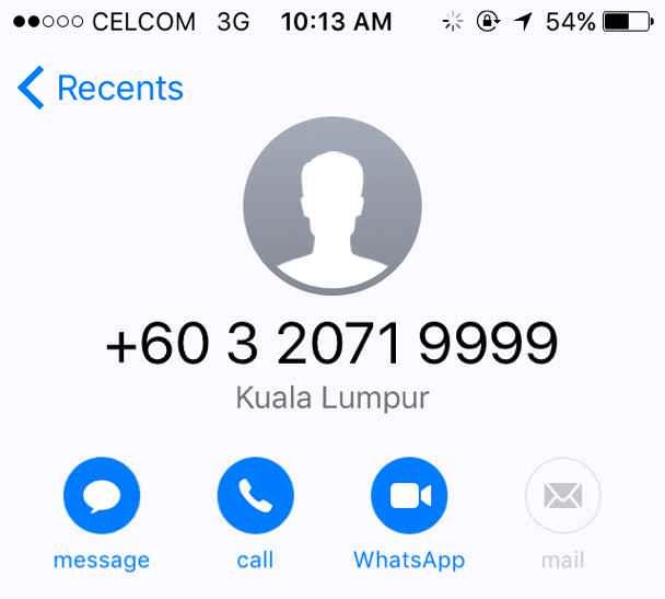 "The number scammers are using to call people under the pretense of ""settling"" accident cases."