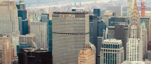 The Statesman HQ, right smack in the middle of New York City.