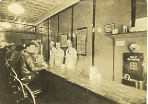 The first Hot Shoppe at 14th & Kenyon, circa 1927.