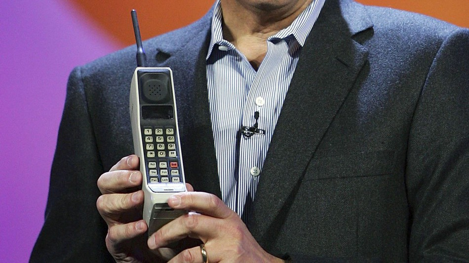 The Motorola DynaTAC 8000X.