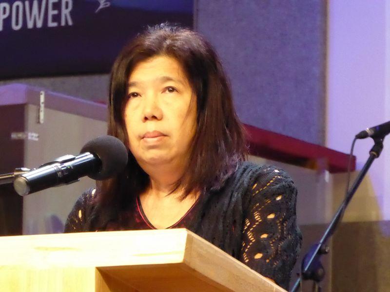 Pastor Raymond's wife, Susanna Liew Sow Yoke.