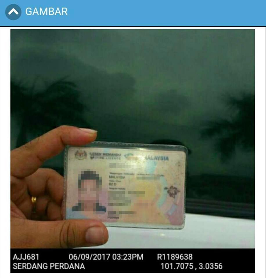 Image from Polis Selangor