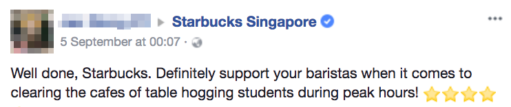 Image from Starbucks Singapore Facebook