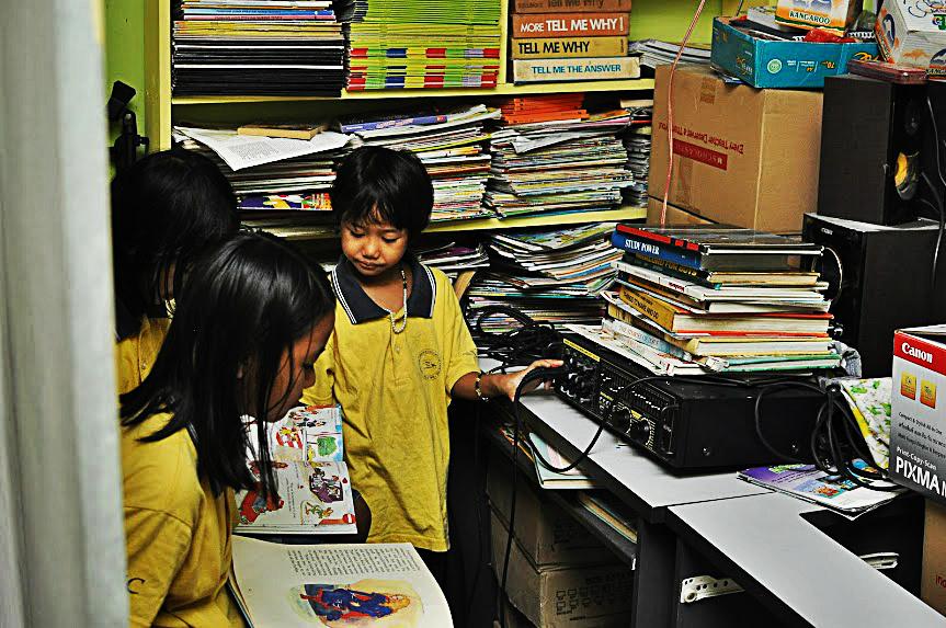 Refugee children in Malaysia.