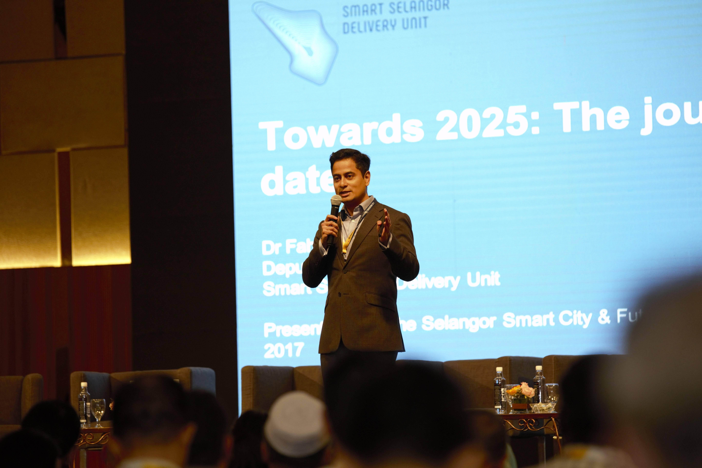 Smart Selangor delivery unit deputy director Dr Fahmi Ngah.