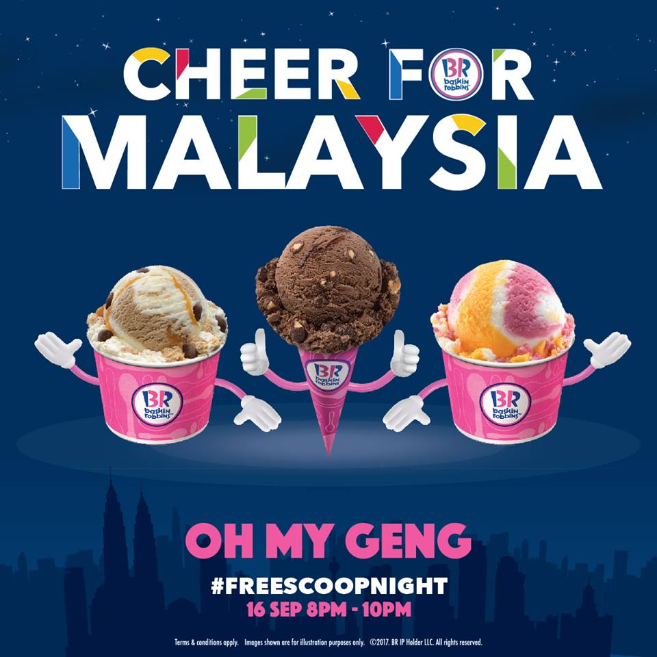 Image from Baskin-Robbins Facebook