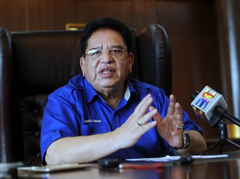 Federal Territories Minister Datuk Seri Tengku Adnan Tengku Mansor