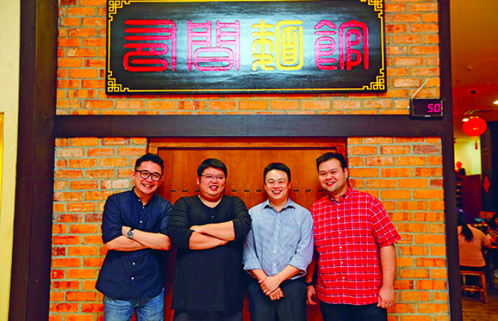 From left: GO Noodle co-founders Lee Hon Wai, Alvin Tan, Mok Wai Peun, and Operations Director Steve Haw.