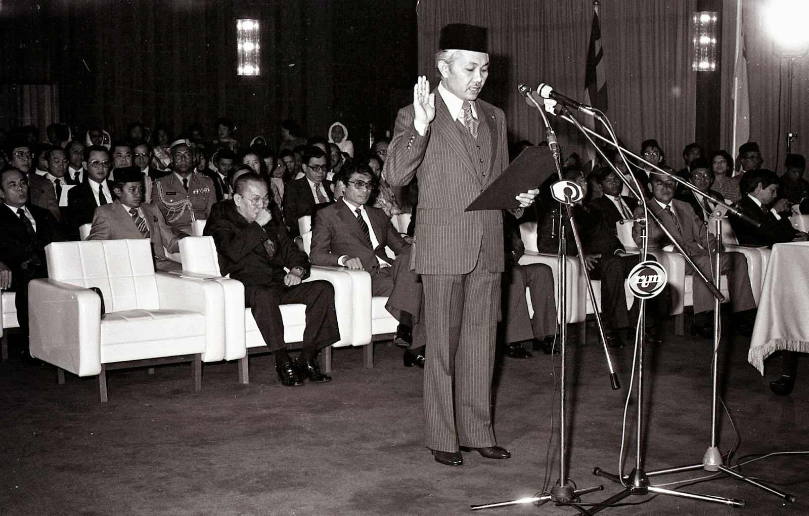 Taib served as the Chief Minister of Sarawak for 33 years.