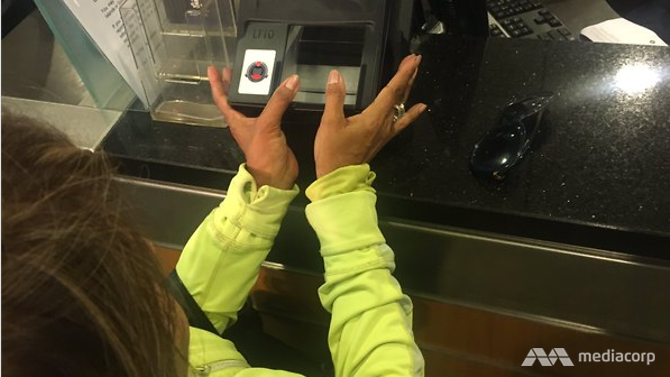 Travellers will need to scan both their thumbprints upon arrival and departure at the checkpoints.
