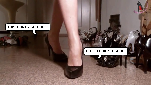 Image from High Heels on the Street / YouTube / edited by SAYS