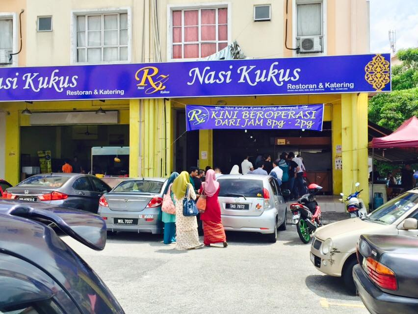 Image from Rz Nasi kukus Seksyen 7,Shah Alam/Facebook