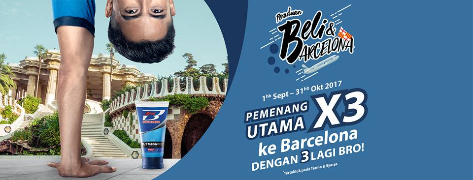Image from Brylcreem Malaysia (Facebook)