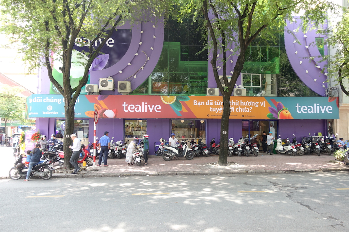 Image from Tealive