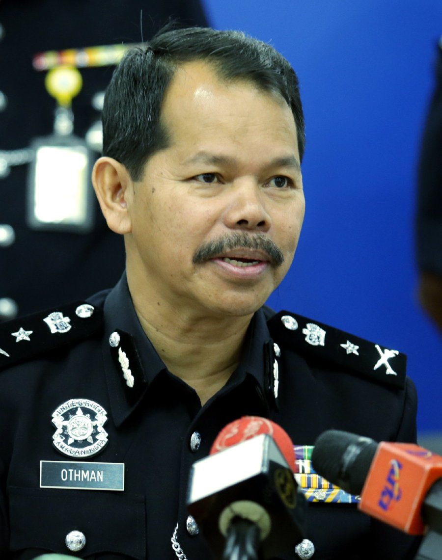 Pahang Criminal Investigations Department chief Senior Assistant Commissioner Othman Nanyan