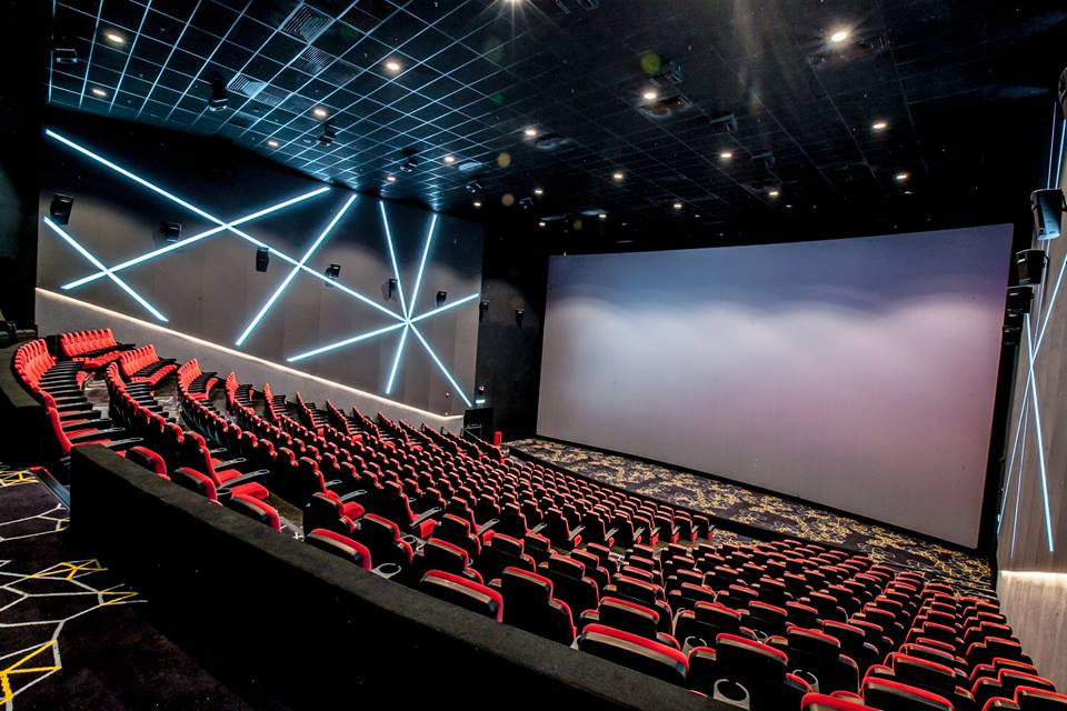 Mbo Cinemas Just Set Up The Largest Screen In The East Coast