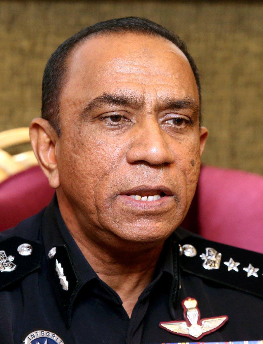 Johor police chief Datuk Mohd Khalil Kader Mohd
