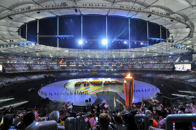 The KL SEA Games closing ceremony was held on 30 August.