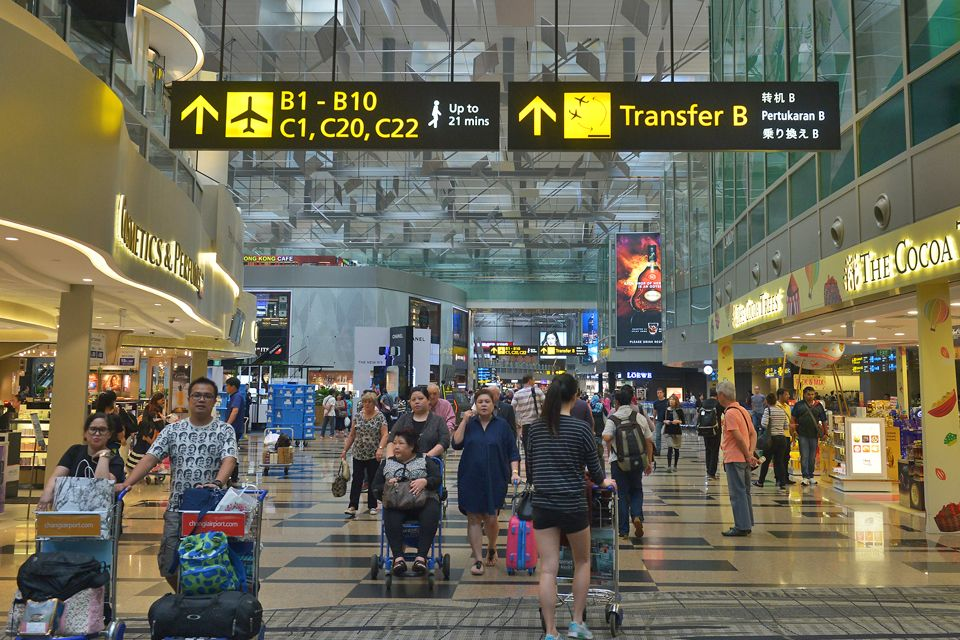 Photo of Changi Airport used for illustration purposes only.