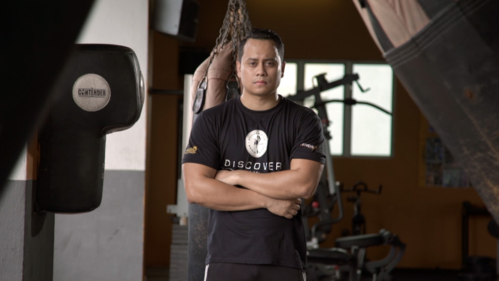 Imran Harith, founder of Discover Muay Thai.